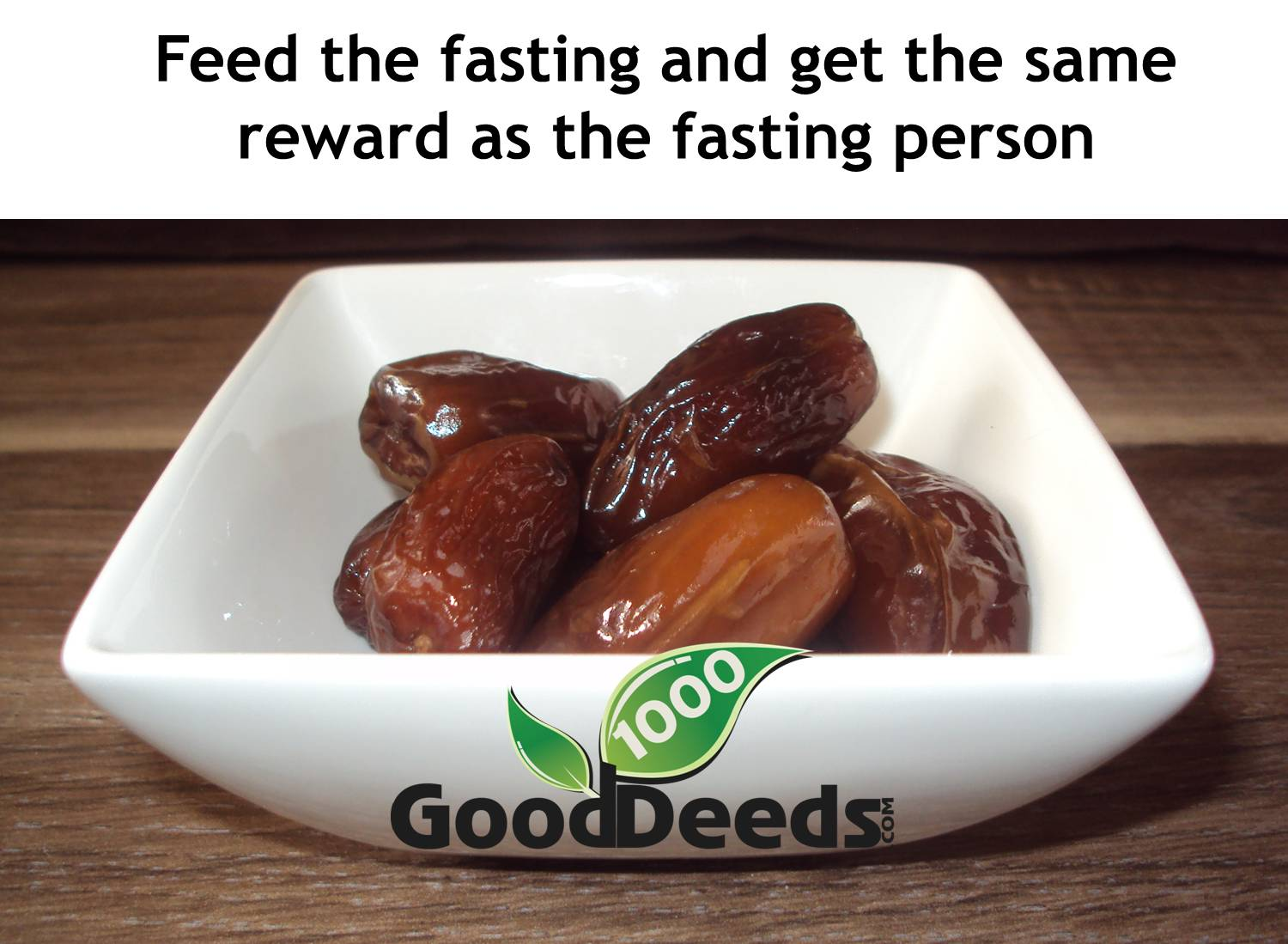 Feed fasting the person