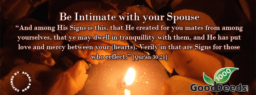 intimate with your spouse