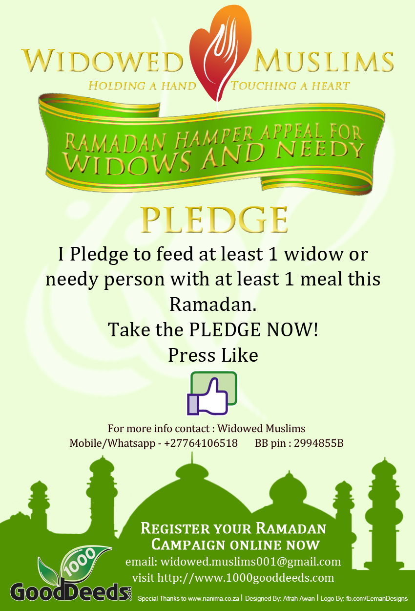 ramadan hamper pledge